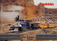Catálogo Märklin modelo ferroviario 1996 novedades Catalog Marklin folleto alemán