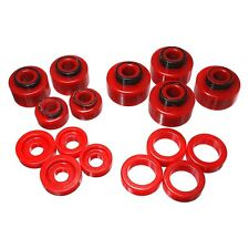 """For Ford F-250 Super Duty 05-07 Energy Suspension 0"""" Front & Rear Body Mount Kit"""