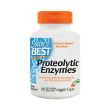 Enzymes, Proteolytic Enzymes, 90 Veg Capsules - Doctors Best