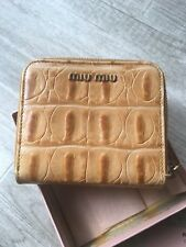 Chloe Camel Leather Wallet with box ( good condition )