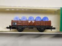 MINITRIX 13513 Niederbordwagen mit Ladung (34581)