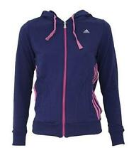 adidas Cotton Blend Zip Neck Hoodies & Sweats for Women
