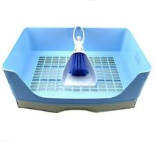 Rabbit Litter Box, Corner Large Toilet with Drawer, Bunny Toilet Box with Blue