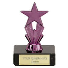 FT173A X 19 MICRO STAR TROPHIES SIZE 8 CM   FREE ENGRAVING