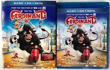 FERDINAND BLU RAY DVD 2 DISC SET + SLIPCOVER SLEEVE FREE WORLD WIDE SHIPPING BUY
