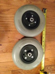 PAIR Hoveround MPV5 MPV4 Caster Wheels Tires 200x50 PR1MO PRIMO Mobility Scooter