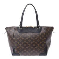 LOUIS VUITTON Monogram Estrela MM 2WAY bag black M51192 Hand Bag 800000089392000