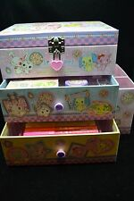 Sanrio Jewelpet Stationery Set Cabinet Drawer Box