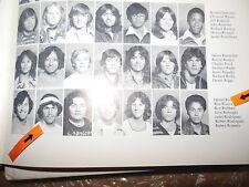 SUPER BOWL COACH RON RIVERA/ORIGINAL 1978 SEASIDE HIGH SCHOOL YEARBOOK/CALIF.