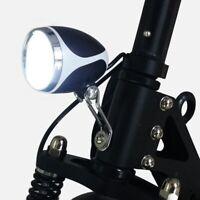 Ebike Light 24V36V48V Fanale Anteriore un LED con Faro Elettrico Bici Horn Q3R9