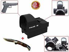 Falke M Mini Reflexvisier / Red-Dot / Leuchtpunktvisier / Rotpunktvisier Optik