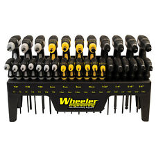 Wheeler Fine Gunsmith Tools Sae/Metric/Hex/Torx P-Handle Driver Set: 1081957