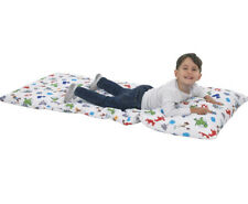 """Deluxe Easy Fold Toddler Nap Mat 26""""X62"""" Pillow Insert Woody Buzz Jessie NWOT"""