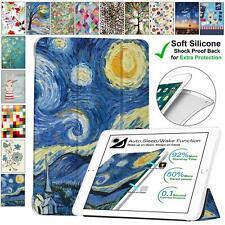 DuraSafe iPad Mini 4 , 5 , 3 / 2 / 1 Printed Soft Back Slim Case Starry Night +