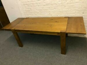 Farmhouse All Hardwood Extendable Table. Very robust heavy duty...£560 At Cost