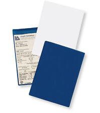 Portalibretto documenti in devon auto moto farmacia formato cm 18,5 x 13,5 BLUE