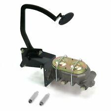 41-48 Ford Manual Brake Pedal kit Disk/DiskSm Oval Blk Pad