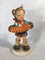 """Goebel Hummel Figurine #185 """"Accordion Boy"""" TMK5 5 1/2"""""""