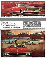 Oldsmobile 1965 - '65 Oldsmobile Styled to go... where the action is! - The Rock