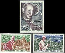 Dahomey Pape Paul VI Onu Pope Papst Papa Non Dentele Imperf Proof Essay ** 1966