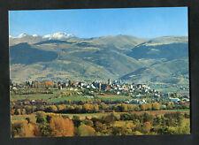 C1980s View: Puigcerda: Fields: Mountains: Pirineus Orientales