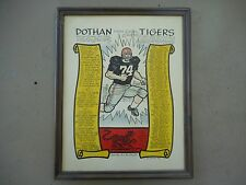 Rare Vintage 1974 Dothan High School Football Poster 4A Sub Champions Phil Neel