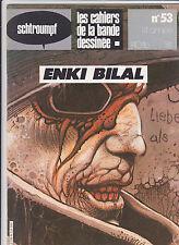 BILAL Schtroumpf revue BD no 53 TBE