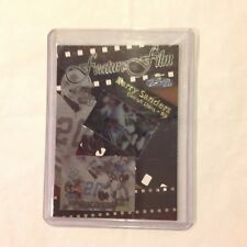 1998 Flair Showcase Feature Film Packers BARRY SANDERS #8 of 10 FF LIONS MVP