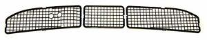 68-72 GM A-body Firewall Cowl Hood Vent Grille Black Plastic Screens AC / NON