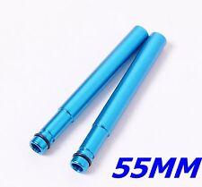 mr-ride Presta Valve extenders 55mm Anodized Blue 2pc -7075 CNC
