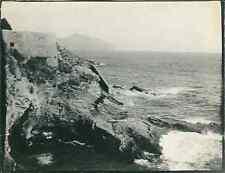 Italie, Château de Miramar, ca. 1910  Vintage silver print. Italy.  Tirage arg