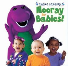 Barney Hooray For Babies! Padded Board Book 2000