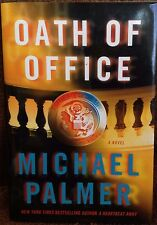 Oath of Office by Michael Palmer new hardcover Book Club edition thriller
