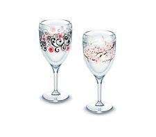 NEW Tervis Cherry Blossom, Berry Swirlwind Wine Glasses (2-Pack)