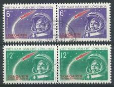 Vietnam 1961 Sc# 160-61 set Gagarin space pairs CTO CV $22