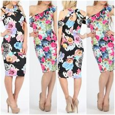 Polyester Summer/Beach Stretch, Bodycon Dresses for Women