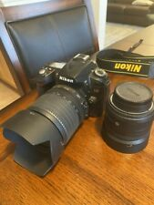 Nikon D90 Digital SLR Camera  (Kit w/ VR 18-105 mm Lens) and 35mm lens.