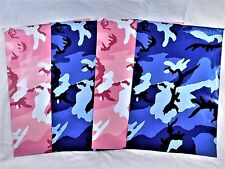 50 Set 10x13 Pink Blue Camouflage Designer Mailers Poly Shipping Envelopes Bags