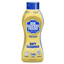 Bar Keepers Friend Liquid Soft Cleaner 26 oz Eco-friendly Lemon