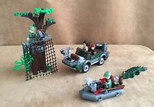 7625 Lego Indiana Jones Complete Stick Kingdom of the Crystal Skull River Chase