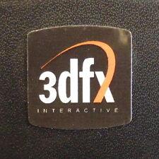 3dfx case Label / Aufkleber / Sticker / Badge / Logo 20x20mm [301c]