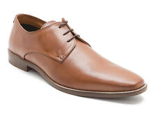 Red Tape Hopton Mens Tan Brown Leather Gibson Shoes !