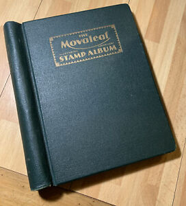 Commonwealth Stamps in a Movaleaf Album - Mint & Used