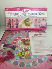"1991 Barbie Board Game ""We Girls Can Do Anything"" For Parts"