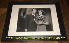 BOB HOPE Original PHOTO Auto SIGNED Framed LEGENDARY Actor & AMERICAN ICON WoW