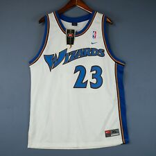 100% Authentic Michael Jordan Wizards Nike Swingman Jersey Mens Size XL 48