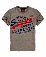 Superdry Men's Size M Medium T-Shirt Vintage Authentic Phoenix Grey Grit NEW