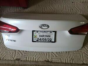 2017-2018 Kia Forte Trunk Lid