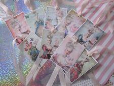 New listing ~ Marie Antoinette Let them Eat Cake Tags Glitter 9 ~