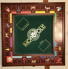 Franklin Mint Monopoly Board Game Deluxe Collectors Edition Solid Wood